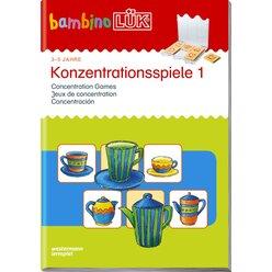 bambinoLÜK Konzentrationsspiele 1, 3-5 Jahre