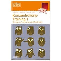 LÜK Konzentrationstraining 1, ab 1. Klasse