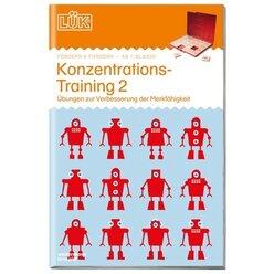 LÜK Konzentrationstraining, Übungsheft, 2.-3. Klasse (Überarbeitung)