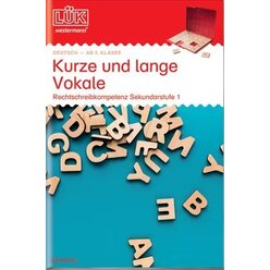 LÜK Kurze und lange Vokale, 5.-10. Klasse