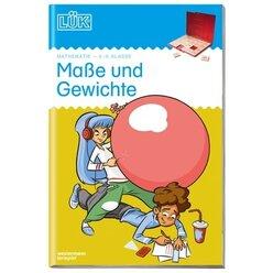LÜK Maße und Gewichte, Übungsheft, 4.-6. Klasse