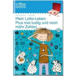 LÜK Mein Lotta-Leben Plus mal lustig und noch mähr Zahlen, Heft, 2. Klasse