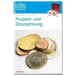 LÜK Prozent- und Zinsrechnung, Heft, 7.-8. Klasse