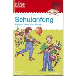 LÜK Schulanfang, Heft Doppelband, 1. Klasse