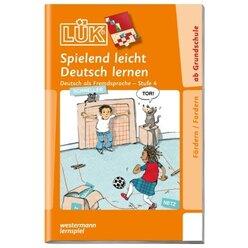 LÜK Spielend leicht Deutsch lernen 4, Übungsheft, 1.-4. Klasse