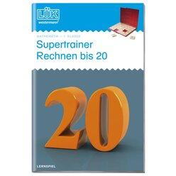 LÜK Supertrainer Rechnen bis 20, Heft, 1.-2. Klasse