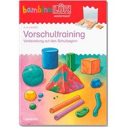 bambinoLÜK Vorschultraining, Übungsheft, 4-6 Jahre