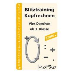 Blitztraining Kopfrechnen - Stufe 2, Kartenspiel, 3.-4. Klasse
