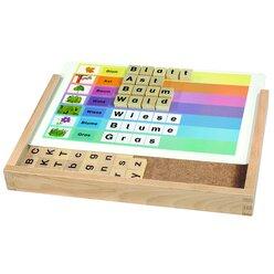 KiGa-ABC nur Großbuchstaben, Magnetspiel