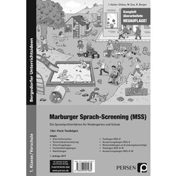Marburger-Sprach-Screening - Testbögen