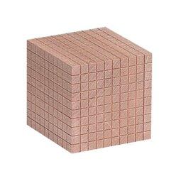 Dienes Tausenderwürfel Holz