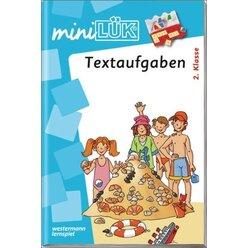 miniLÜK Textaufgaben, Heft, 2. Klasse