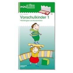 miniLÜK Vorschulkinder 1, Heft, 4-6 Jahre
