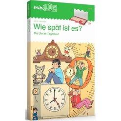 miniLÜK Wie spät ist es ?, Heft, 5 Jahre