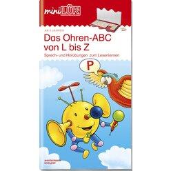 miniLÜK Ohren-ABC von L bis Z, 5-7 Jahre