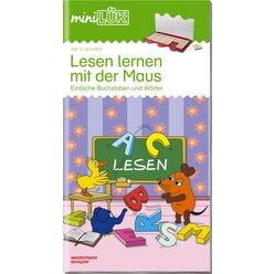 miniLÜK Lesen lernen mit der Maus 1, Heft, ab 5 Jahre