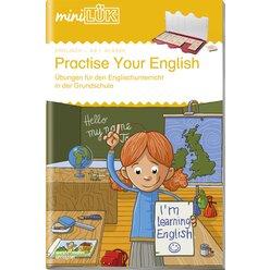 miniLÜK Practise your English Step 1, Heft, 1.-4. Klasse