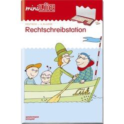 miniLÜK Rechtschreibstation, Heft, 3. Klasse