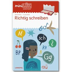 miniLÜK Richtig schreiben, Heft, 3. Klasse