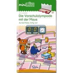 miniLÜK Vorschulolympiade mit der Maus 2, Heft, 4-6 Jahre
