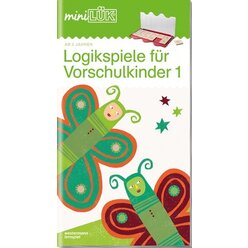 miniLÜK Logikspiele für Vorschulkinder 1, Heft, ab 5 Jahre