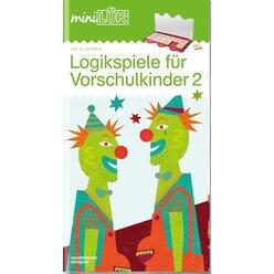 miniLÜK Logikspiele für Vorschulkinder 2, ab 5 Jahre