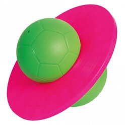 TOGU® Moonhopper grün/pink, Hüpfball für Kinder bis 70 kg