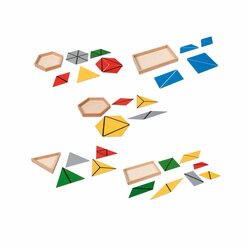 Konstruktive Dreiecke, ab 3 Jahre