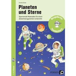 Planeten und Sterne, Themenheft, 1.-4. Klasse