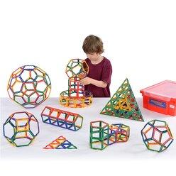 Polydron Frameworks Klassensatz 310 Teile in Aufbewahrungsbox