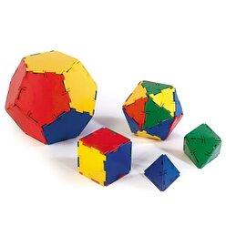 Polydron Bausatz Platonische Körper 50 Teile