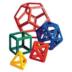 Polydron Frameworks Platonische Körper, 50 Teile