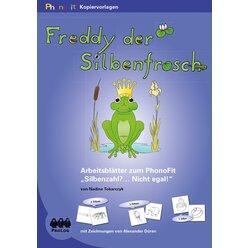 PhonoFit-Kopiervorlagenmappen: Freddy der Silbenfrosch, ab 5 Jahre