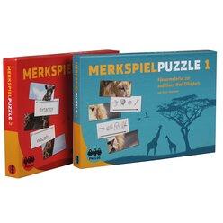 Merkspielpuzzle 1 + 2 - Gesamtpaket, ab 5 Jahre