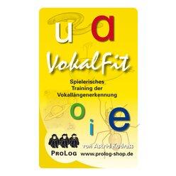 Vokalfit - Graphemix, Kartenspiel, ab 6 Jahre