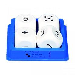 4 Zahlenwürfel 50 mm
