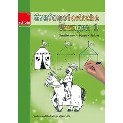 Grafomotorische Übungen 1 - Grundformen - Bögen - Striche, 4-7 Jahre