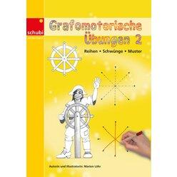 Grafomotorische Übungen 2 - Reihen - Schwünge - Muster, 4-7 Jahre
