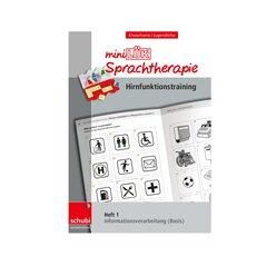 miniLÜK Sprachtherapie - Hirnfunktionstraining, Heft 1, ab 16 Jahre