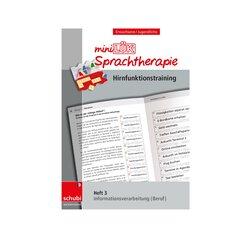 miniLÜK Sprachtherapie - Hirnfunktionstraining, Heft 3, ab 16 Jahre