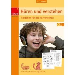 Hören und Verstehen 4, Kopiervorlagen inkl. CD-ROM, 3.-4. Klasse