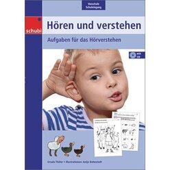 Hören und verstehen 1, Kopiervorlagen inkl. CD-ROM, 4-7 Jahre