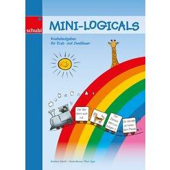 Mini-Logicals - Knobelaufgaben für Erst- und Zweitleser, Kopiervorlagen,  4-7 Jahre