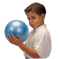 Gymnic Overball 23 cm, blau, bis 80 kg