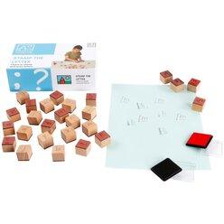 Stempelspiel Buchstaben, ab 3 Jahre