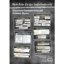 Classroom Communication and Grammar Basics, 6 Poster, 5.-8. Klasse