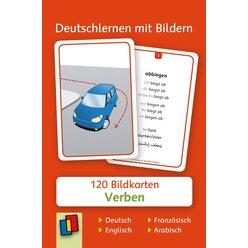 Deutschlernen mit Bildern - Verben, Bildkarten, 3-6 Jahre