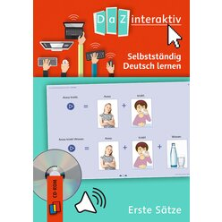 DaZ interakttiv: Erste Sätze - Einzellizenz, CD-ROM, 1.-13. Klasse
