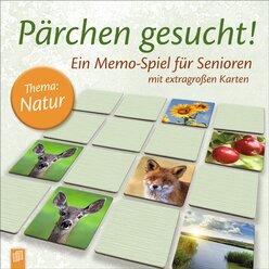 Pärchen gesucht! Thema Natur - Memo Spiel für Senioren