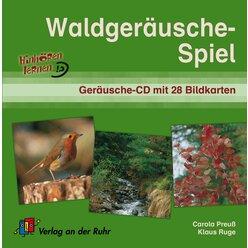 Hinhören lernen - Waldgeräusche-Spiel, Audio-CD und Bildkarten, 1.-9. Klasse